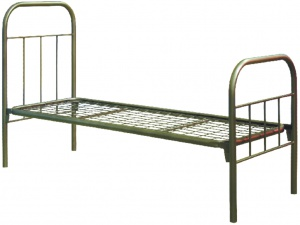 Кровать «Армейская» односпальная