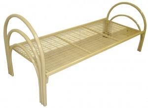 Кровать с дугообразными спинками
